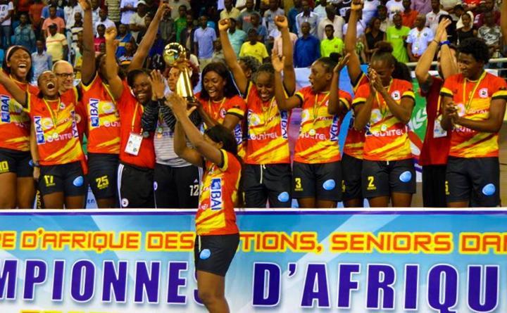 CAN Handball Féminin : l'Angola remporte son quatorzième titre continental