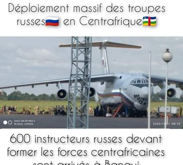⭕▪️ COOPÉRATION 🇷🇺🤝🇨🇫 #RUSSIE_RCA.