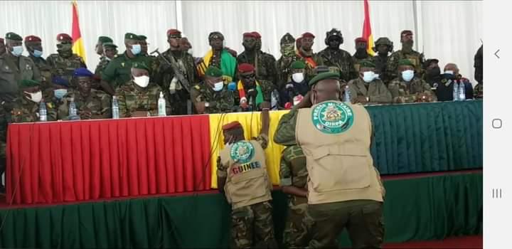 Guinée : voici ce que la junte militaire aurait proposé aux émissaires de la CEDEAO