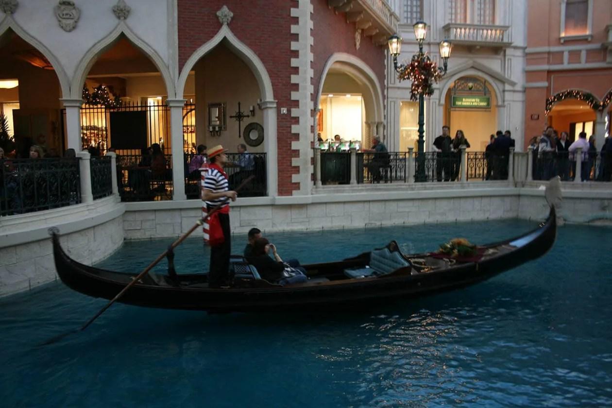 The Venetian Gondola Rides in Las Vegas