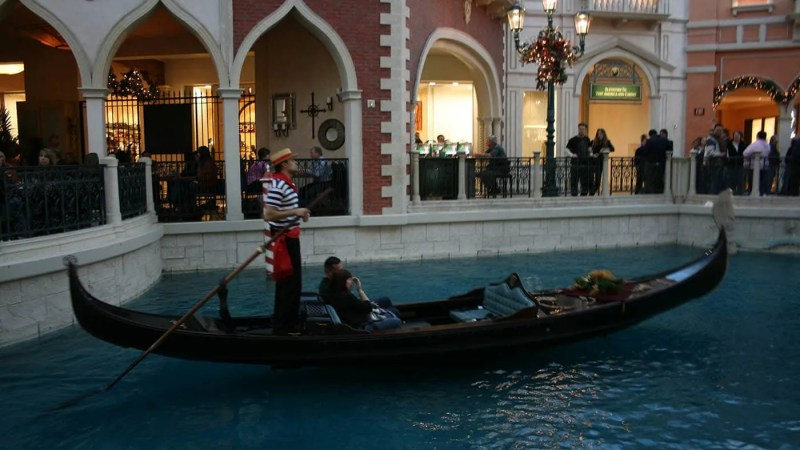 The Venetian Gondola Rides in Las Vegas