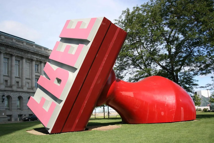 World's Largest Rubber Stamp (FREE Stamp) in Cleveland, Ohio