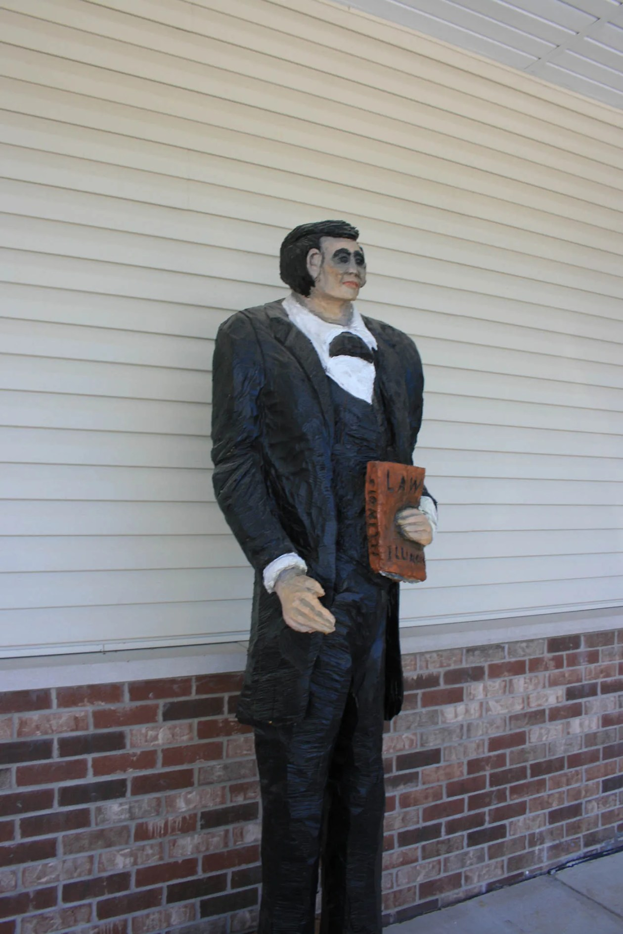 World's Tallest Abraham Lincoln Statue in Ashmore, Illinois