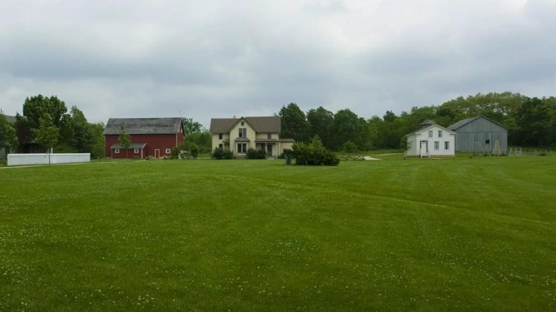 Midway Village in Rockford, Illinois