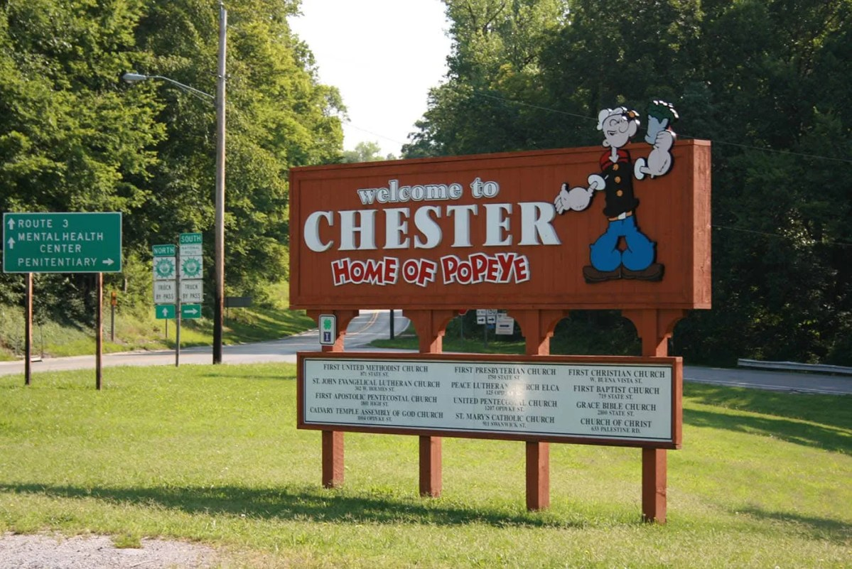 Sneak Peek of the Week: Popeye and Chester, Illinois