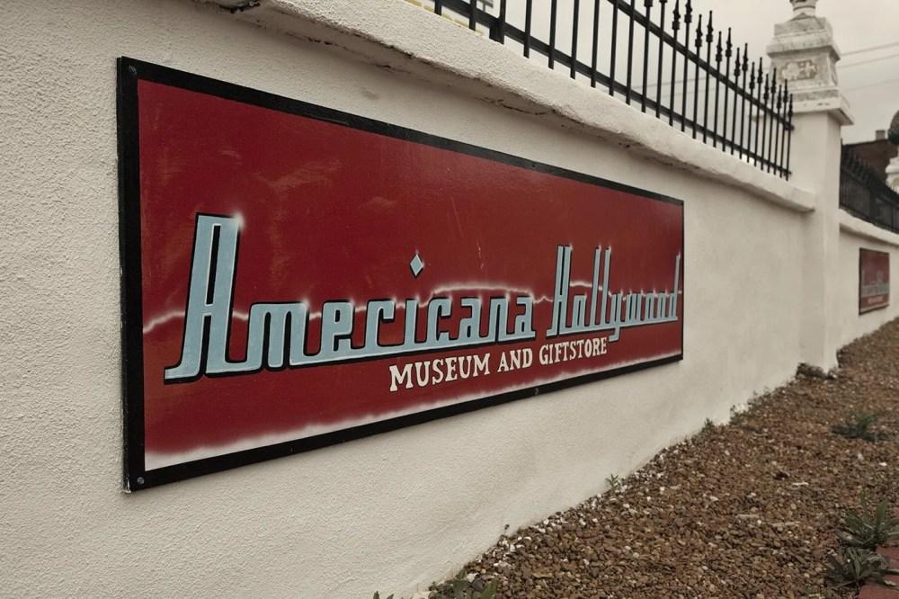 Americana Hollywood Museum in Metropolis, Illinois