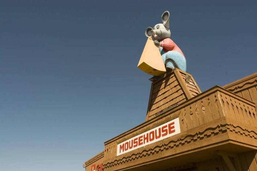Mousehouse Cheesehaus in Windsor, Wisconsin -- Roadside Attractions in Wisconsin