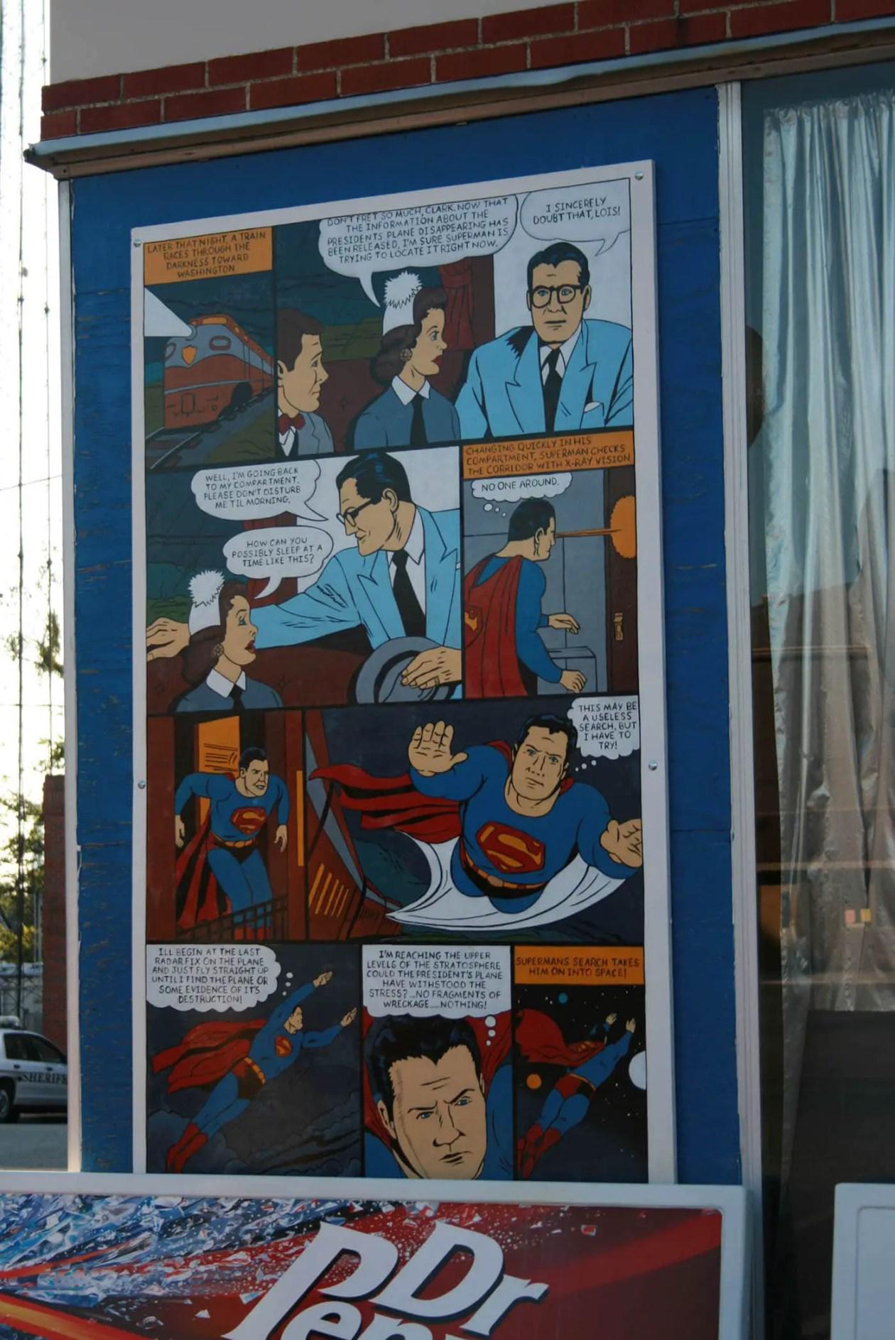 Superman Square In Metropolis Illinois Silly America