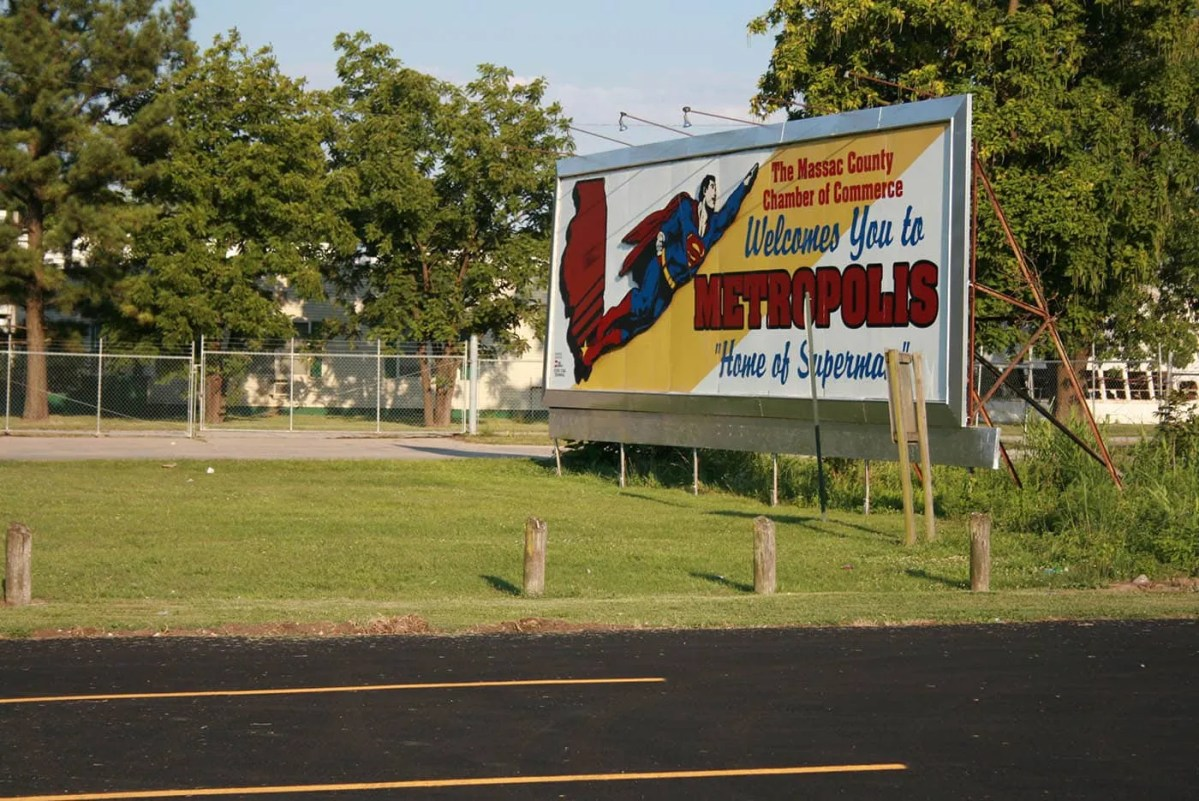 Welcome to Metropolis, Illinois: The Home of Superman!