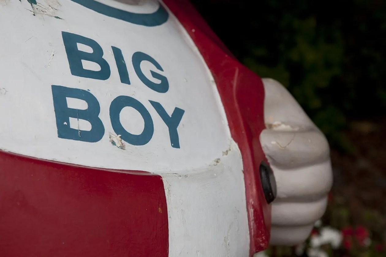 Big Boy Statue - I-94 Exit 159 in Michigan