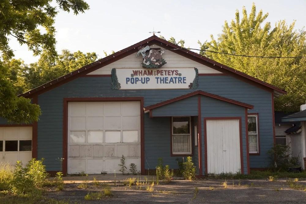 Wham & Petey's Pop-Up Theatre at the World's Largest Pecan in Brunswick, Missouri