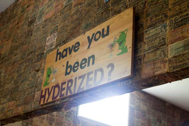 Have you been Hyderized at the Glacier Inn in Hyder, Alaska?