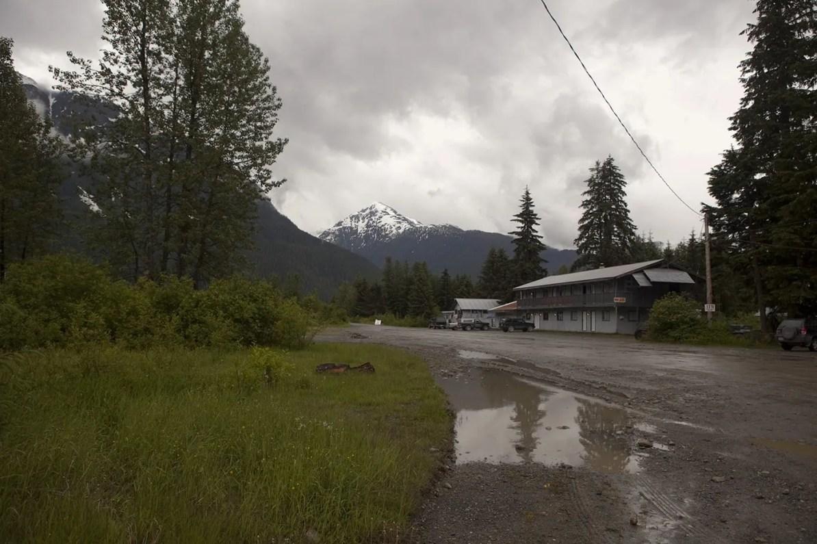 Views of Hyder, Alaska.
