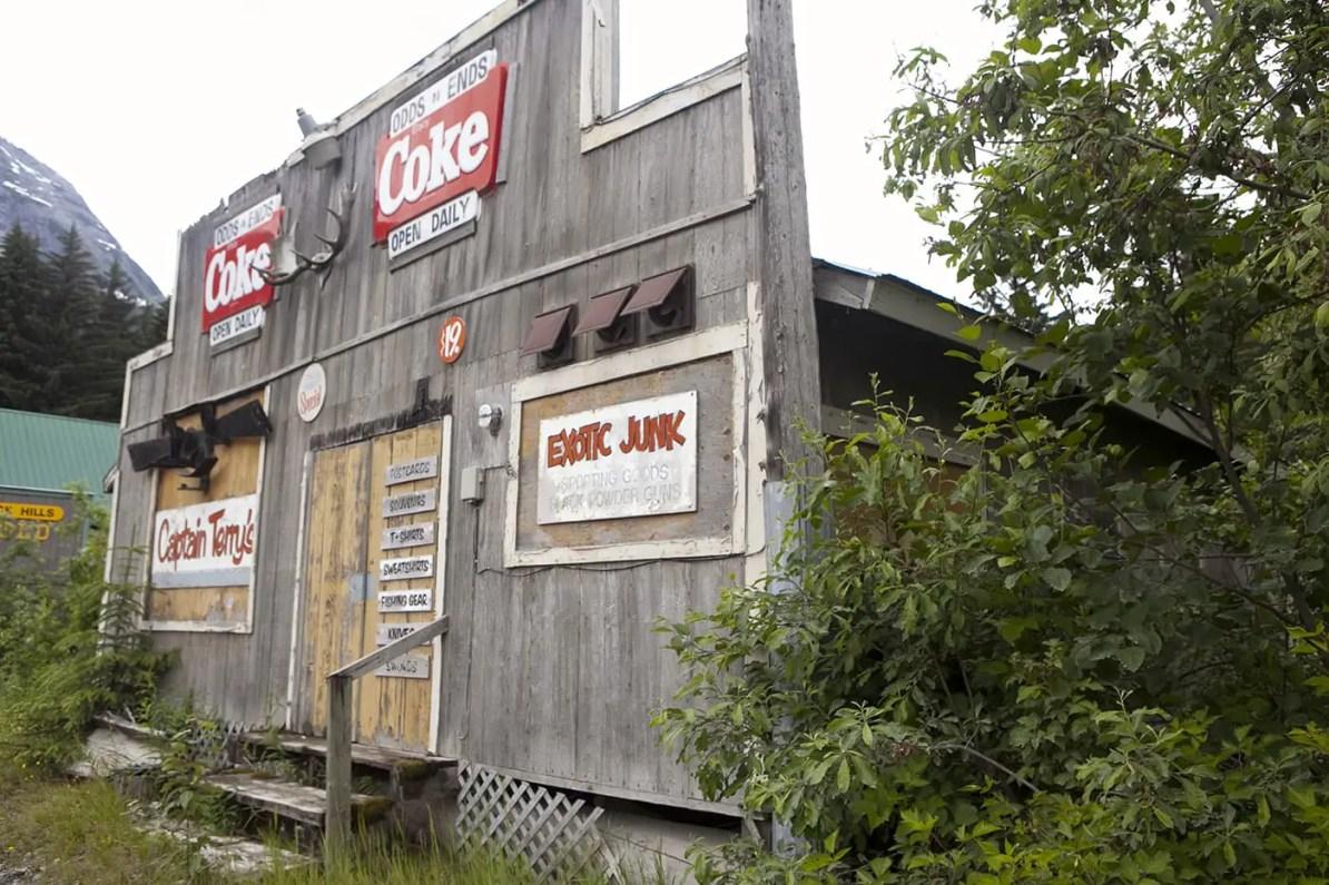 Captain Terry's Exotic Junk in Hyder, Alaska