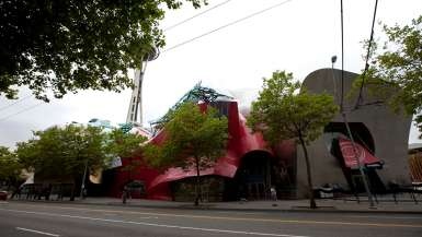 Experience Music Project (EMP) in Seattle, Washington