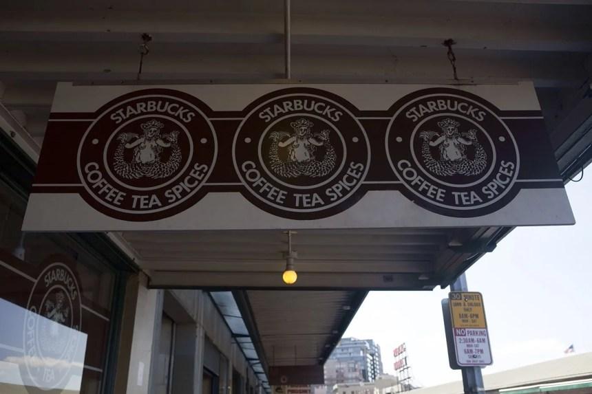 The Original Starbucks in Seattle, Washington