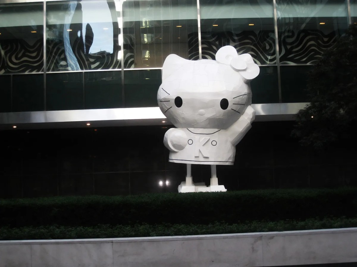 Hello Kitty Statues in New York City