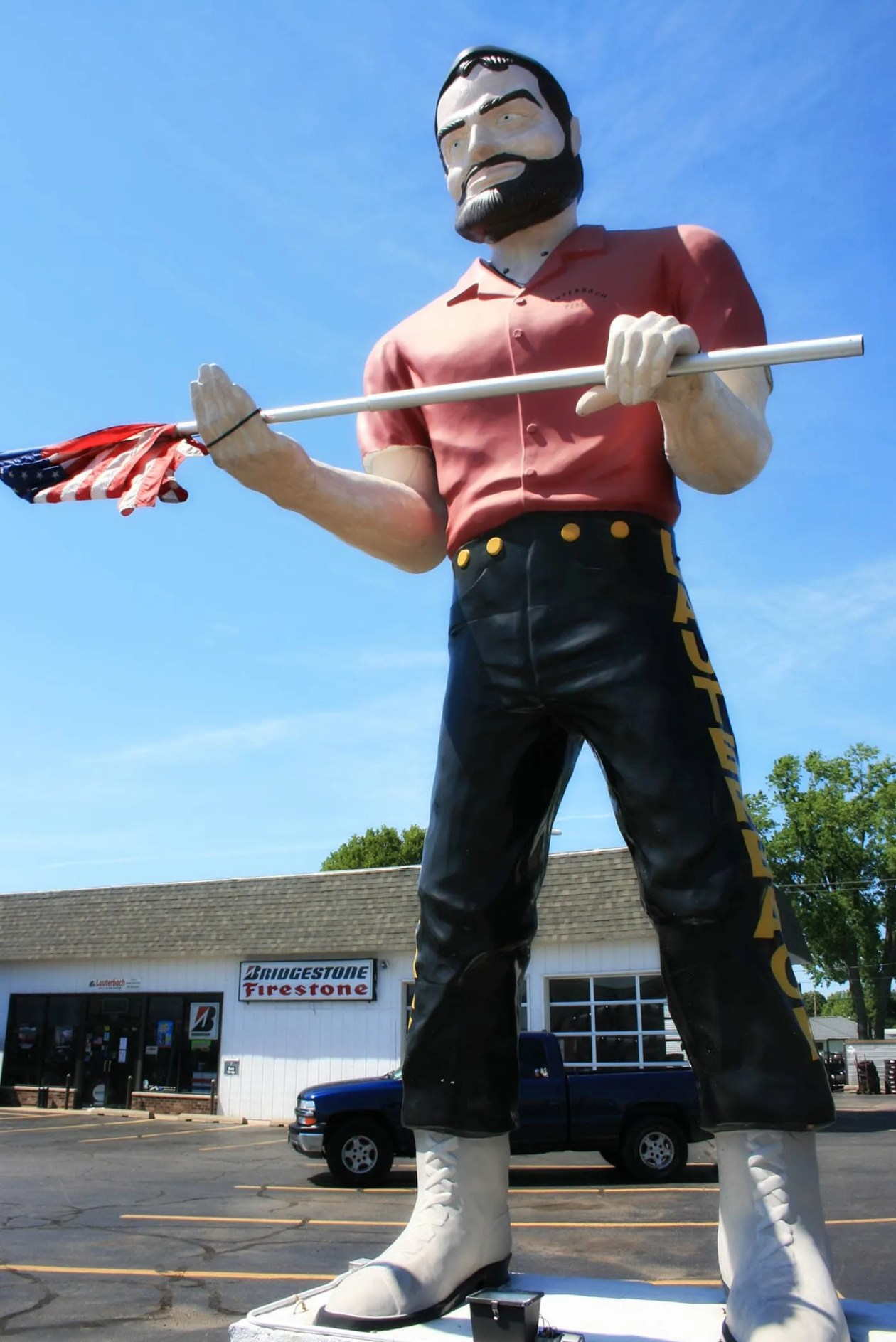 lauterbach tire muffler man in springfield illinois