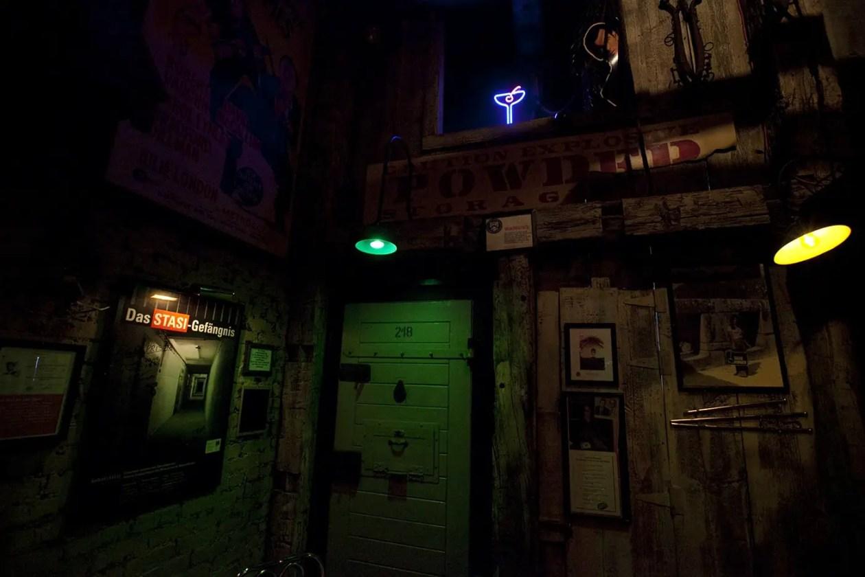 Safe House, a spy-themed restaurant in Milwaukee, Wisconsin.