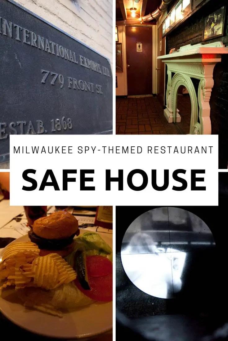 Safe House : Milwaukee Spy-Themed Restaurant
