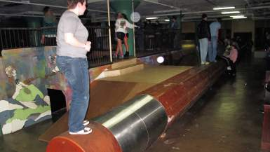 World's Largest Pencil at the City Museum in St. Louis, Missouri
