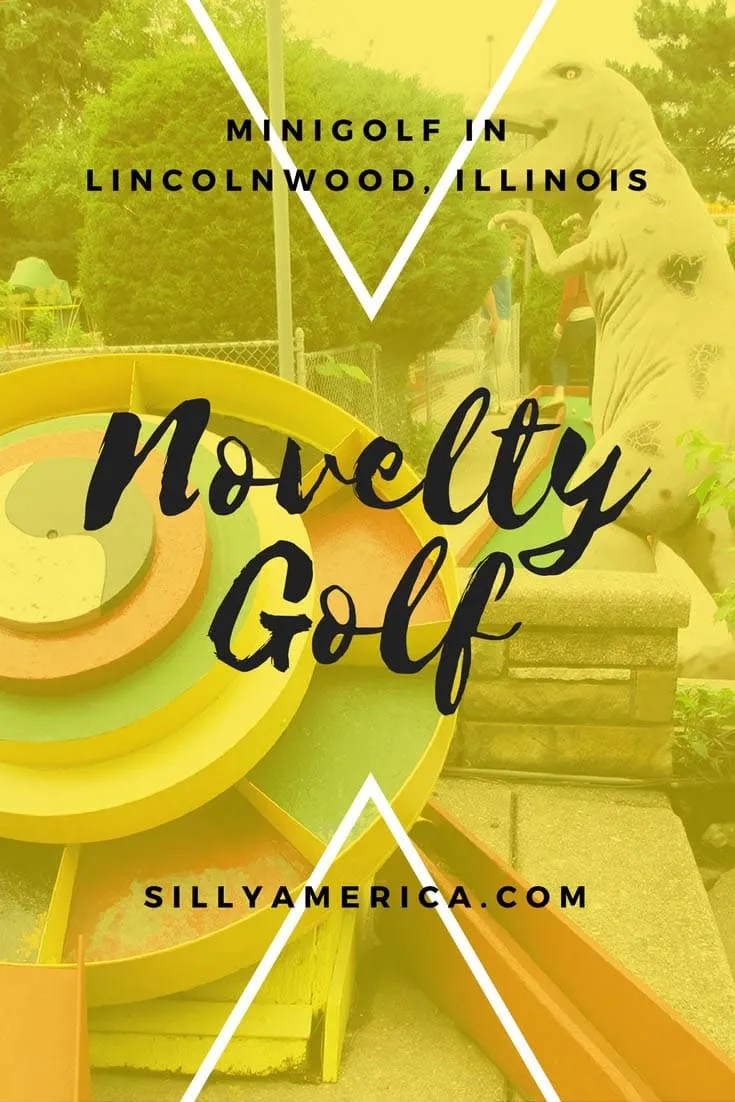 Novelty Golf minigolf in Lincolnwood, Illinois.