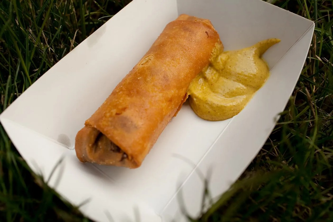 Irish Egg Roll from Abbey Pub at the Taste of Chicago