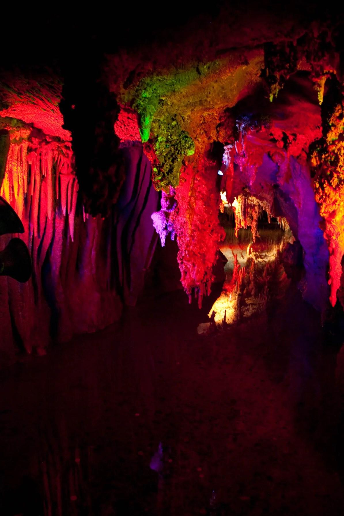 Shenandoah Caverns in Virginia