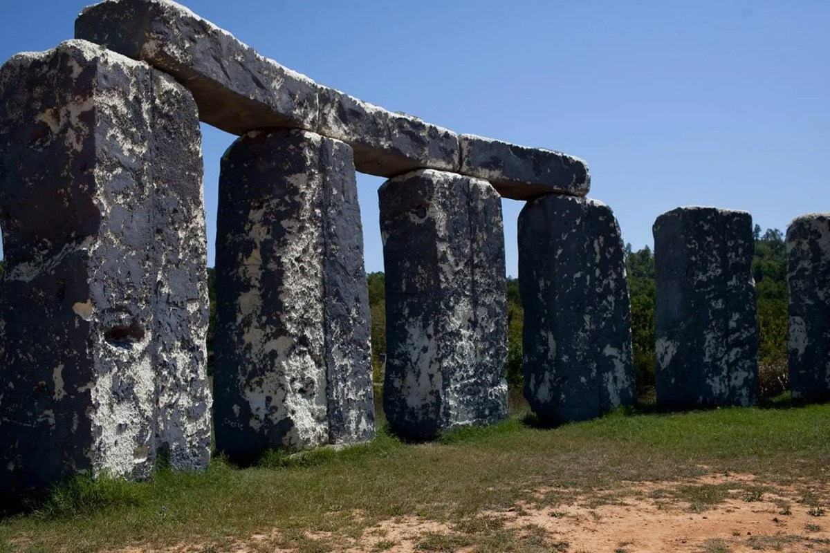 Foamhenge in Natural Bridge, Virginia