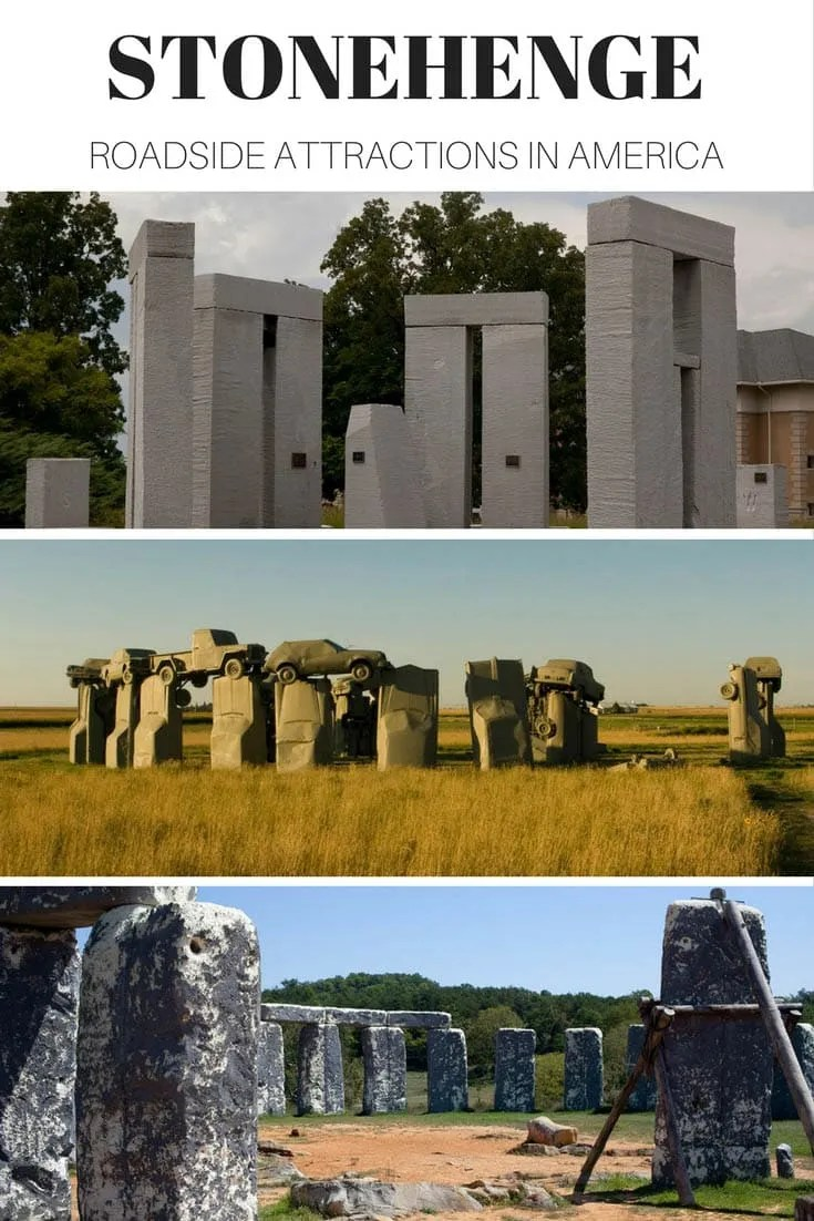 Stonehenge roadside attractions in Illinois