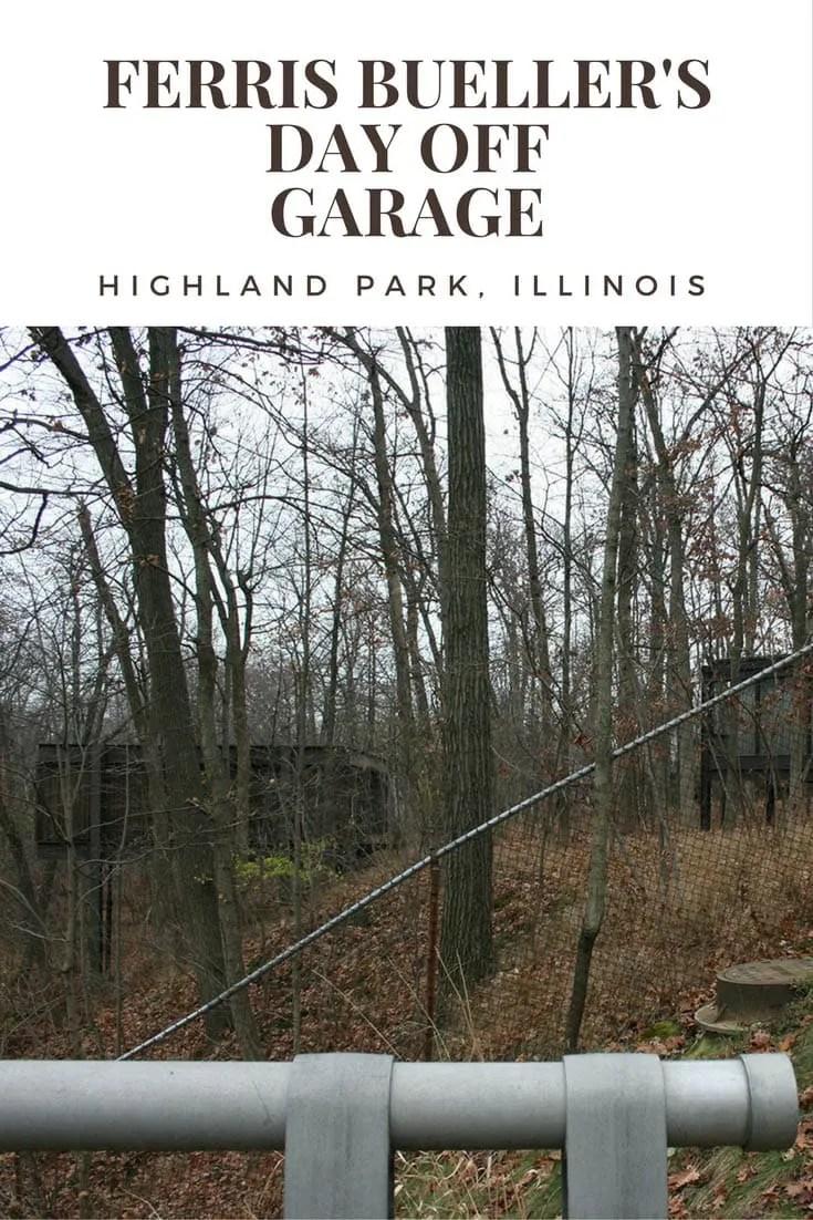 Ferris Bueller's Day Off Garage in Highland Park, Illinois