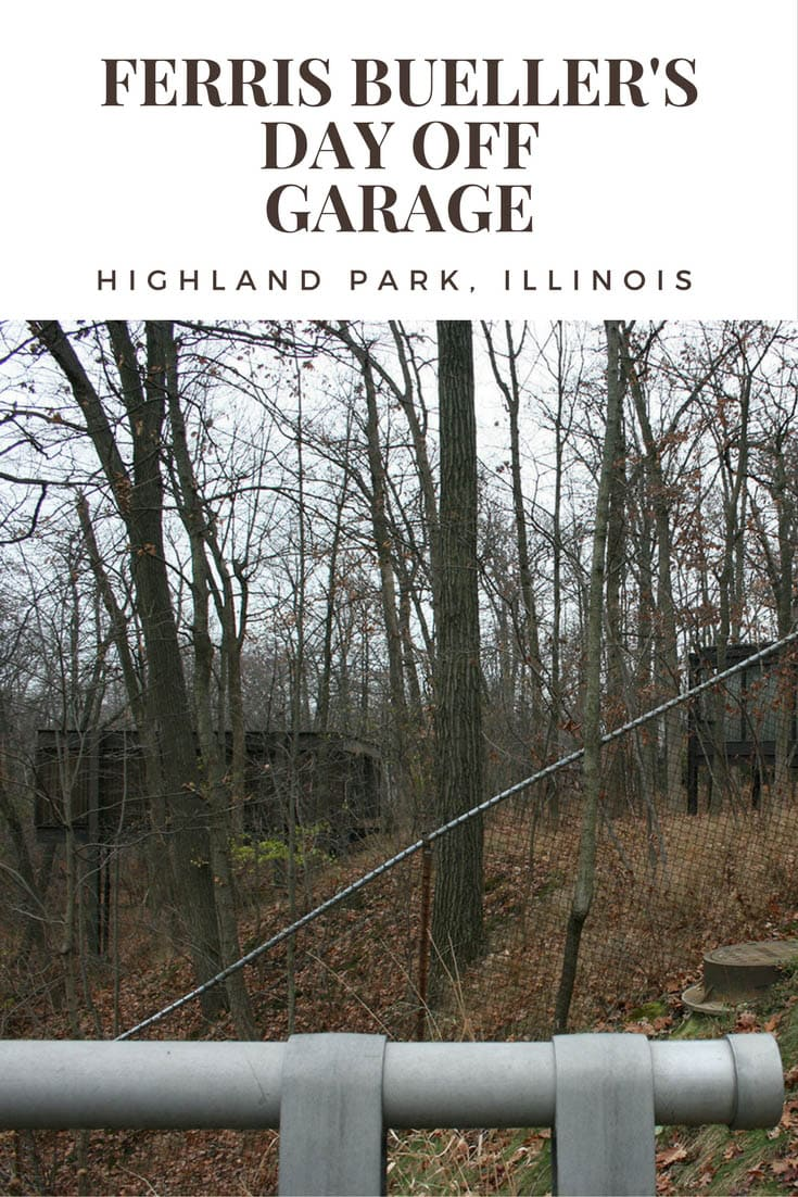 Ferris Bueller's Day Off Garage in Highland Park, Illinois