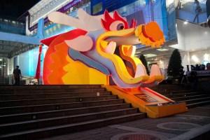 Siam Square Dragon in Bangkok, Thailand.