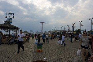 Parachute Jump at Coney Island in Brooklyn, New York