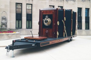 Dennis Manarchy's World's Largest Film Camera in Chicago