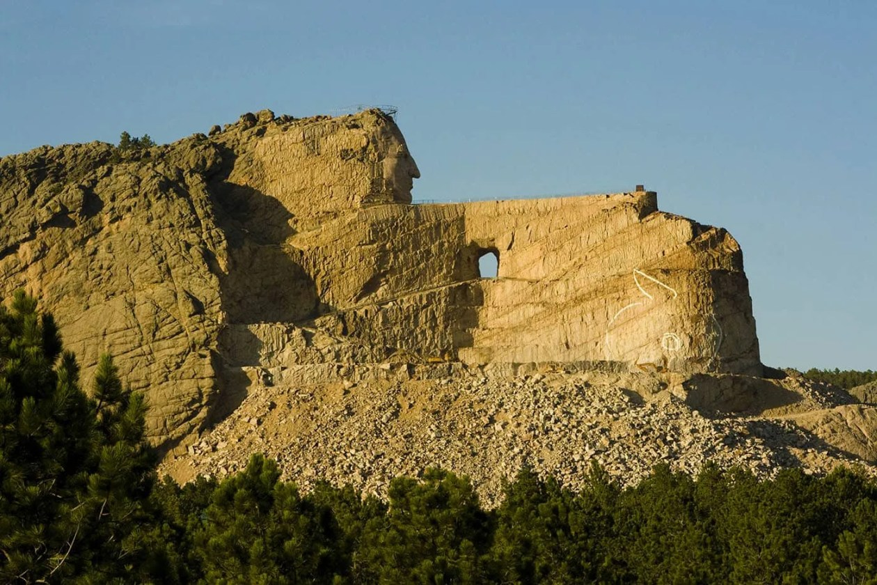 Chief Crazy Horse Memorial in Crazy Horse, South Dakota - Mount Rushmore Road Trip