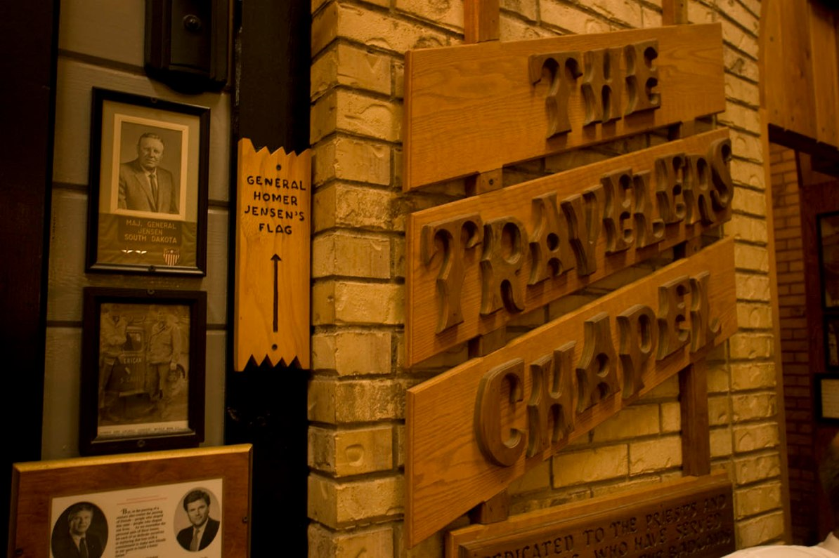 The Traveler's Chapel at Wall Drug Store in Wall, South Dakota