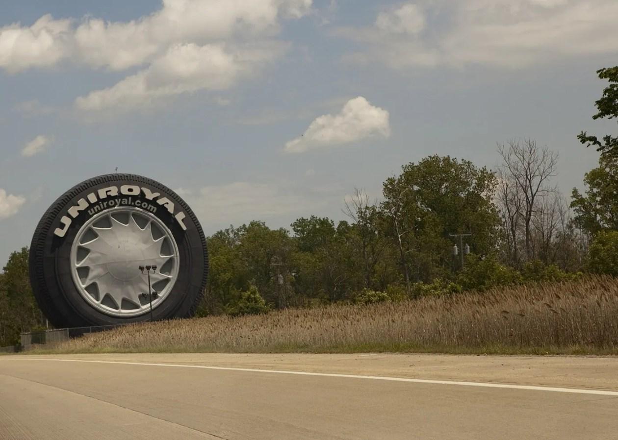 World's Largest Tire in Allen Park, Michigan