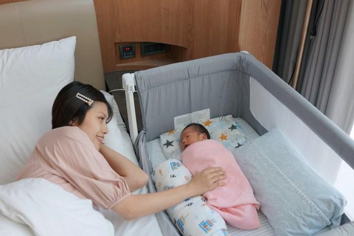 育兒│超美又實用的 Shnuggle Air 成長型床邊嬰兒床。陪伴孩子的甜夢時光*