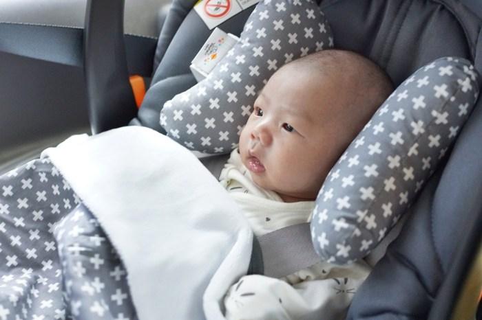育兒│Baby Elephant Ears 寶寶護頸枕 + 親膚毛毯。新生兒彌月送禮推薦!