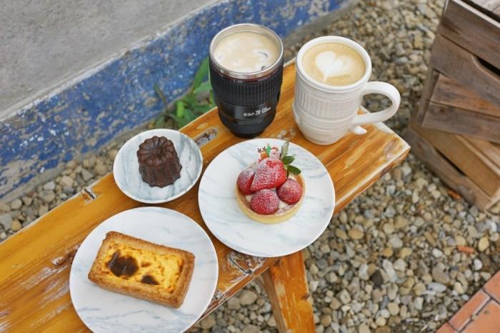 新竹下午茶│影咖啡 Inn Caffè 將軍村門市。鏡頭咖啡與金磚布丁的美好相遇*