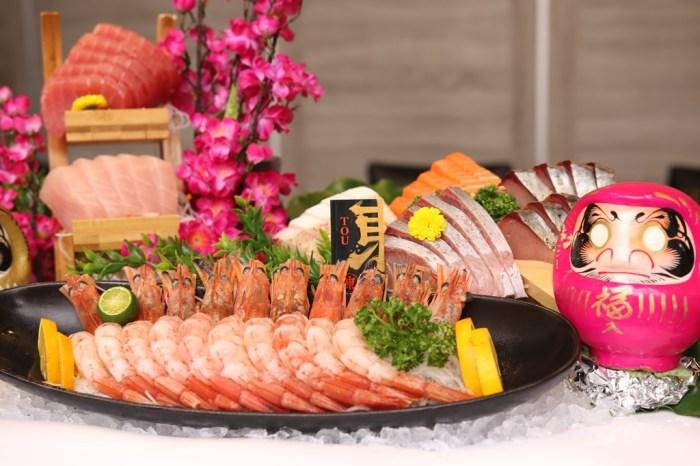 新竹美食│東街日本料理竹北成功店。不必花大錢也能享受奢華海鮮大餐*