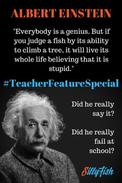 We're busting myths about Albert Einstein in this week's teacher feature special. Did he really fail at school? Did he say those famous words?