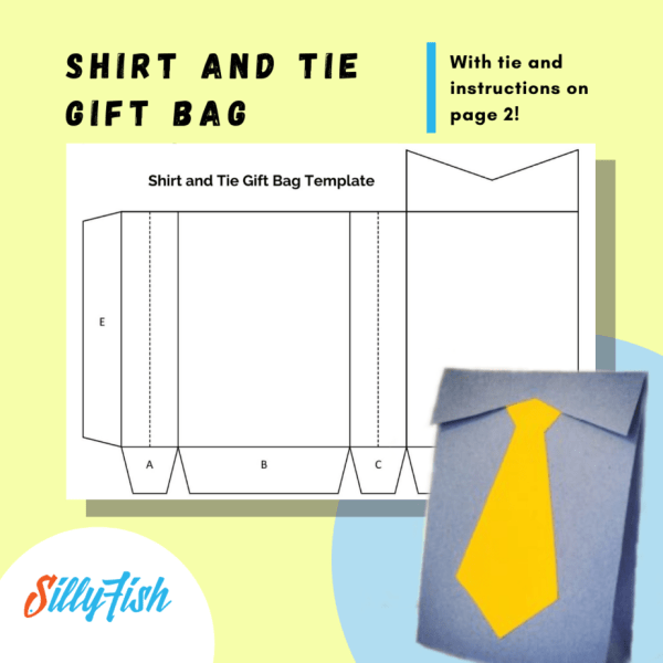 Shirt and Tie Gift Bag_ Silly Fish Learning