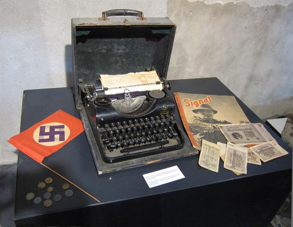 Actual Nazi typewriter
