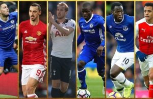 PFA Player of the Year shortlist 2017