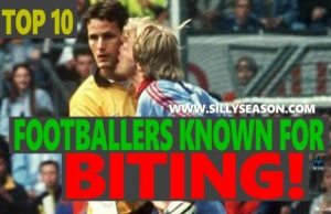 Top 10 Footballers Known For Biting