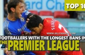 Longest Bans in The Premier League
