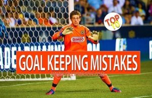Goal Keeping Mistakes