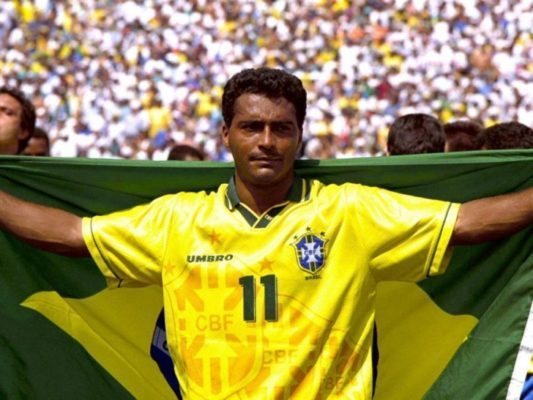 Romario is one of the Top 10 Most Selfish Soccer Players of All Time